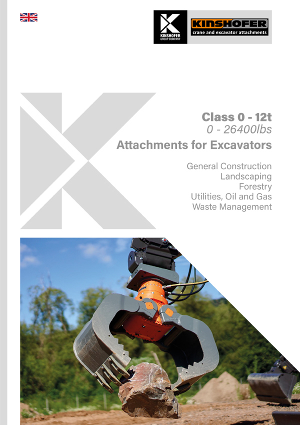 Attachments for Excavators - Compact Class 0 - 12t Operating Weight