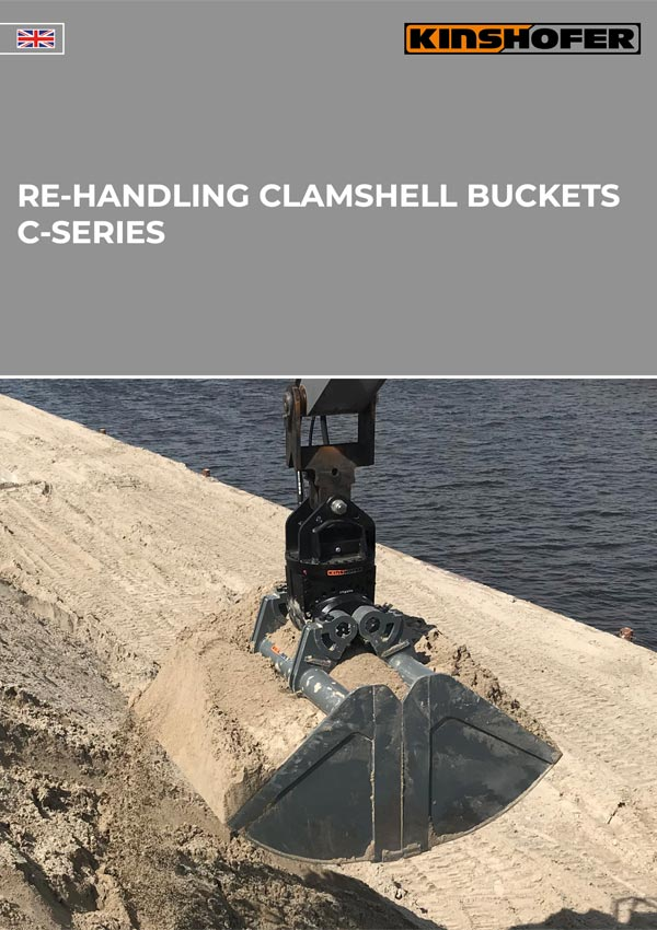 C-Series Re-handling Clamshell Buckets