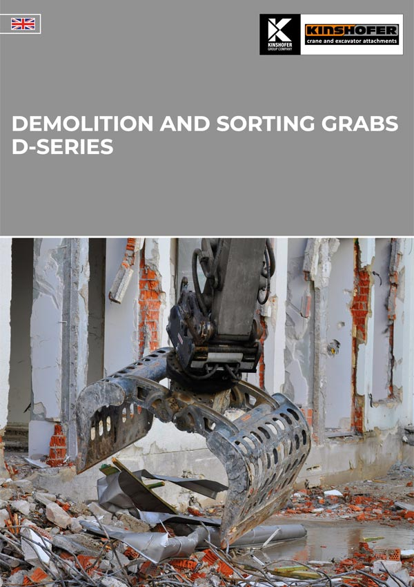 D-Series Demolition and Sorting Grabs