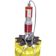 15t-Rotator with Central Feedthrough
